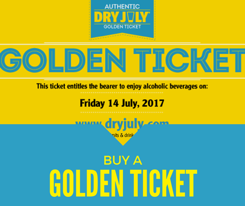 Dj17 Fundraising Golden Ticket