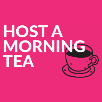Host a morning tea