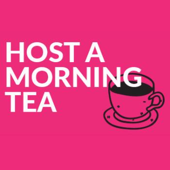 Host a morning tea