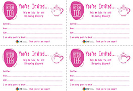 High Tea Invites Small