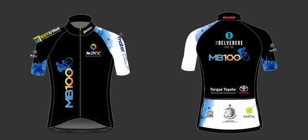 race jersey front and back