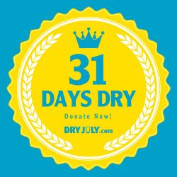 31 Days Dry Badge