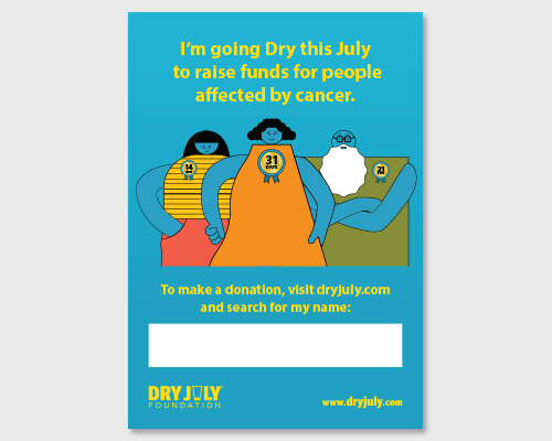 Dry July Participant Poster