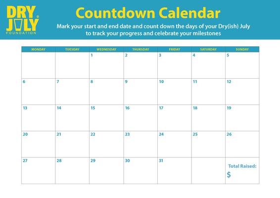 Countdown Calendar - Generic