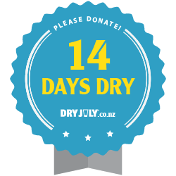 14 days dry badge