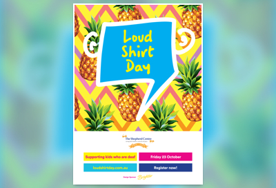 Poster for Loud Shirt Day
