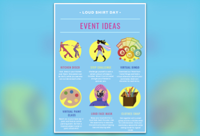 Event Ideas Resource 5 for Loud Shirt Day