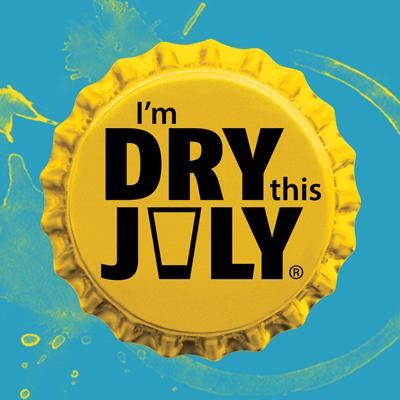 I'm Dry This July Bottlecap