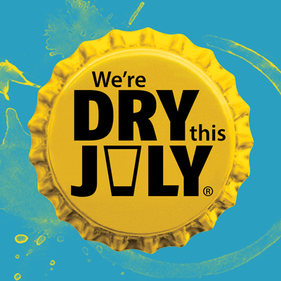 We're Dry this July - Show your support
