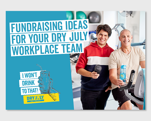 Front cover of the document for Fundraising Ideas while working remotely