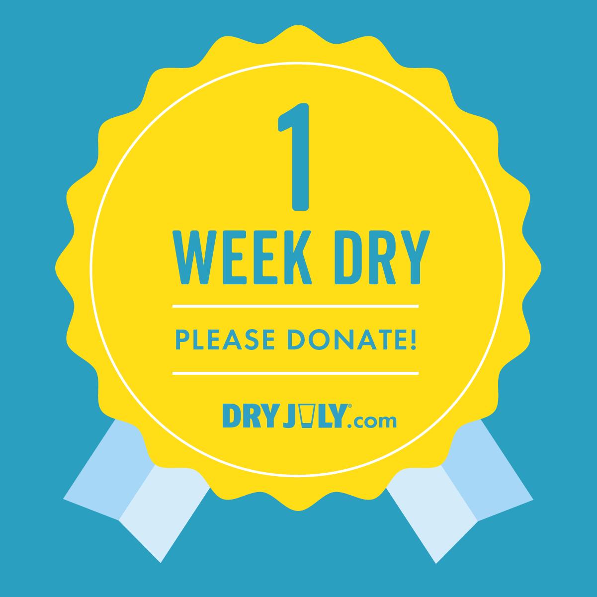 1 Week Dry