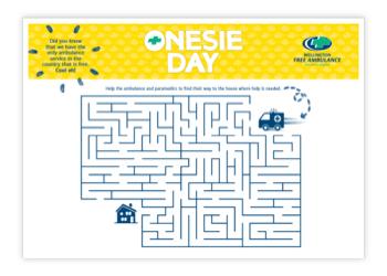 1406 Wfa Onesie Day 2021 Resource Maze Thumbnail