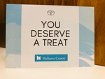 Thumb gift of wellbeing voucher