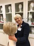 Thumb volunteer in wig library may 2017