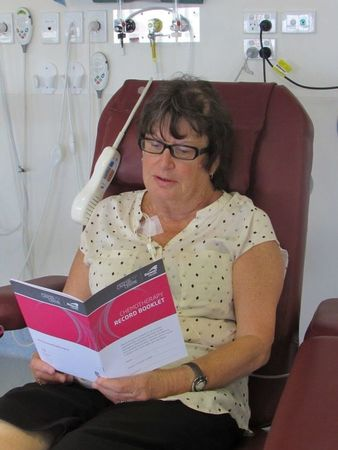 Small patient with chemo diary