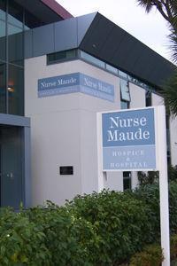 Small nurse maud hospice exterior
