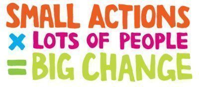 Small small actions by lots of people1
