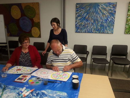 Small barwon health art therapy