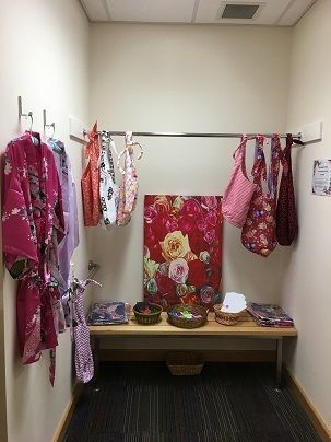Small pah breast cancer patient dressing room web