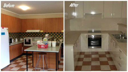 Small before after cancer council wa lodge kitchens